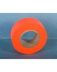 Trail Marker Tape {Flagging Tape} - Fluorescent Orange ~ 10 per sleeve