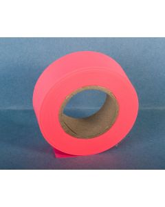 Trail Marker Tape {Flagging Tape} - Fluorescent Pink ~ 10 per sleeve