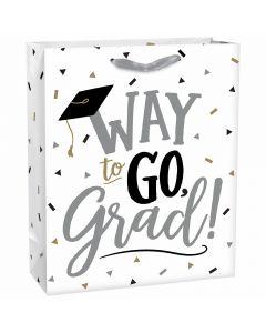 Grad Glossy Gift Bag ~ Large