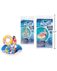 "30"" Tropical Design Inflatable Swim Ring"