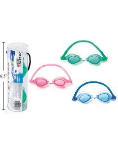 Hydro Swim Kid's Lightening Swimmer Goggles in PVC Tube