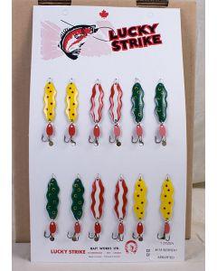 """Lucky Strike Serpent Wobbler 1.75"""""""