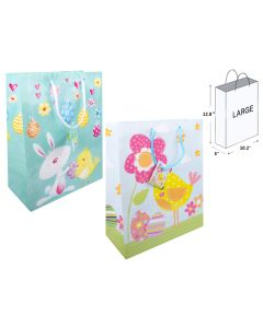Easter Large Gift Bags ~ 12 per pack