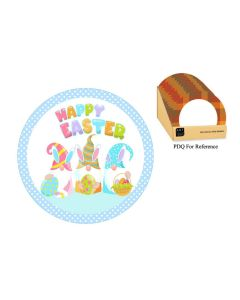 """Easter Paper Plates - 9"""" ~ 8 per pack"""