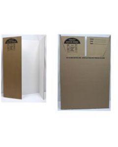 "Trifold Cardboard Project Display - 36"" x 48"" ~ Box of 24"