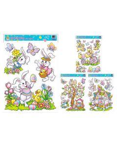Easter Window Clings ~ bunnies/chicks