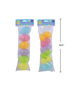 Easter Glow-in-the-Dark Fillable Eggs ~ 2 assorted packs