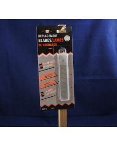 Utility Knife Replacement Blades ~ 18 x 10mm ~ 10/pk
