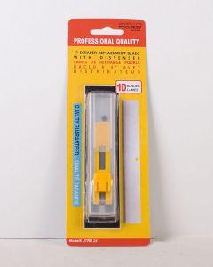 """Replacement 4""""L Scraper Blades ~ 10 per pack"""