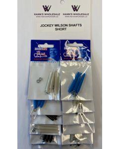Jockey Wilson Shafts - SHORT ~ 12 per card
