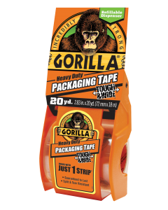 "Gorilla Heavy Duty Packaging Tape Tough & Wide ~ 2.83"" x 20 yards"