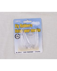 Compac Fly Bobber ~ Clear