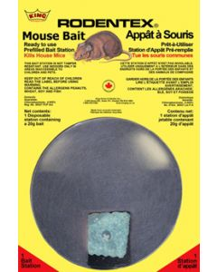 Rodentex Mouse Bait Station ~ 1 per pack