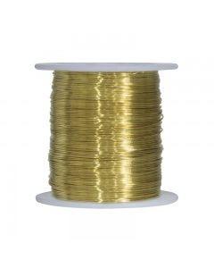 Brass Snare Wire ~ 22 gauge / 1lb spool