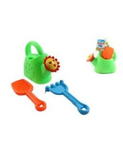 Kid's Watering Can w/Tools ~ 3 piece set