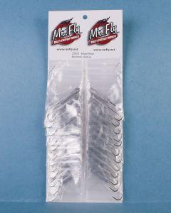 Single Hook Mackerel Lead Jig - 1per pack ~ 24 per card