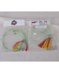 Mr Fly Groundfish Fishhair Flies ~ 3 per string