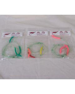 Mr Fly Mackerel Color Tube Jigs ~ 3 per string