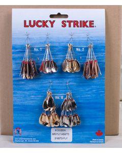 Lucky Strike #37 - Custom Spinners ~ 6 dozen per display