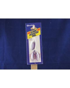 Sonic Rooster Tail - 1/8oz ~Silver Shimmer Purple
