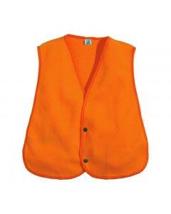Fl. Orange Fleece Safety Vest