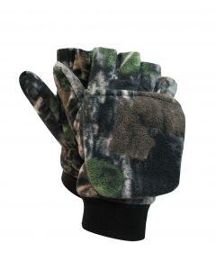 Camo Polar Fleece Glove - Mitt