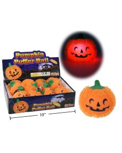 Halloween Flashing Pumpkin Ball ~ 12 per display
