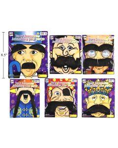 Halloween Moustache Set