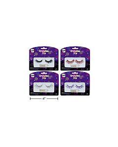 Halloween Foil Eye Lashes Kit