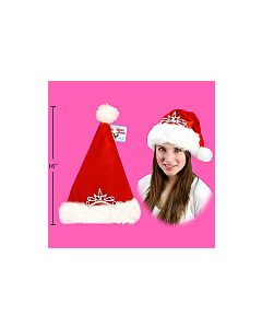 Christmas Hat with Tiara