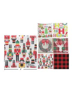 """Christmas Luncheon Napkins - 13"""" x 13"""", 2-ply ~ 16 per pack"""