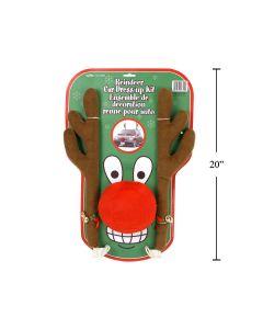 Christmas Deluxe Reindeer Car Decoration Set