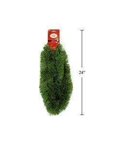 "Christmas Pine Garland - 10 Ply ~ 3"" x 6'"