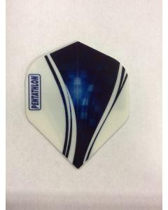 Pentathlon Flight ~ Blue & White