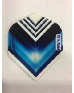 Pentathlon Flight ~ Blue with White