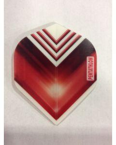 Pentathlon Flight ~ Red with White