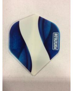 Pentathlon Flight ~ Blue with White Swirl