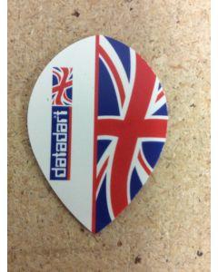 Metronic Flights ~ Half Britain Flag Pear