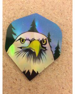 Holographic Flights ~ Eagle Head