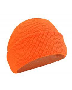 Fl. Orange Acrylic Toque w/Thermakeeper Lining