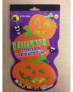 Halloween Shaped Sticker Book ~ 80 stickers
