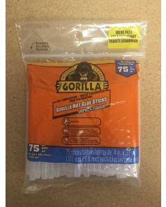 """Gorilla Hot Glue Sticks for Glue Guns - 4"""" Mini ~ 75 per pack"""