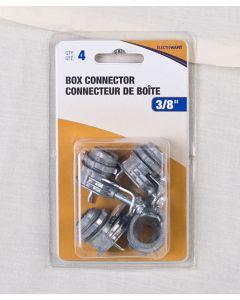 """1-Screw Box Connector - 4 per bag ~ 3/8"""""""