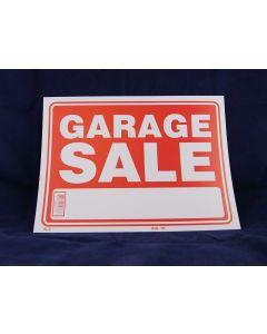 "PVC Sign - 9"" x 12"" ~ Garage Sale"
