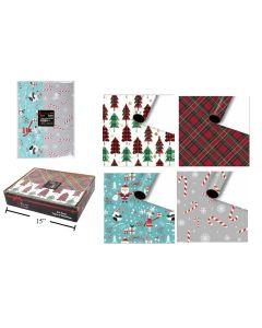 Christmas Flat Wrap ~ 5 sheets