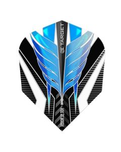 Target Vision Ultra Flight ~ Black with Blue & White