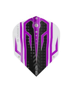 Target Vision Ultra Flight ~ Black with Purple & White