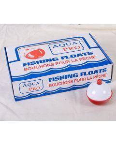 "Compac Red & White Plastic Bobbers ~ 2"""