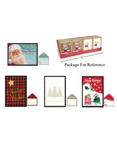 Christmas Cards - Traditional ~ 16 per pack
