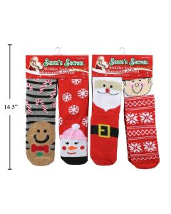 Christmas Adult Socks ~ 2 pairs per pack
